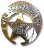 NOPD badge