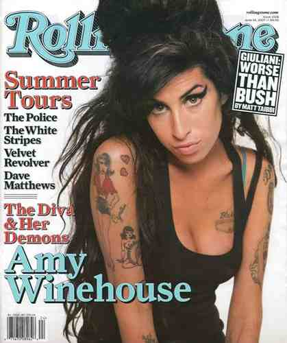 Winehouse on Cover of RS