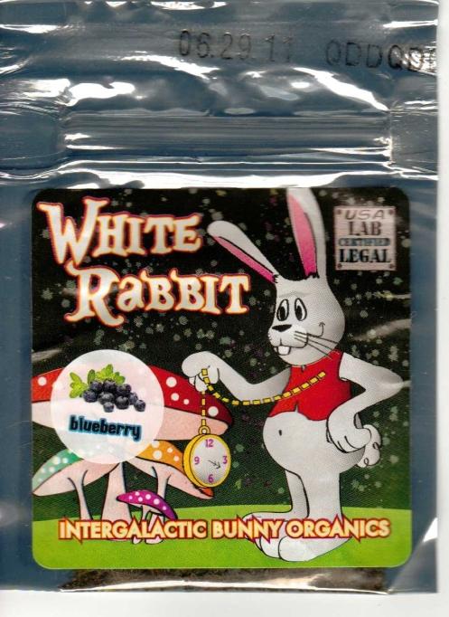 White Rabbit Botanical Sachet
