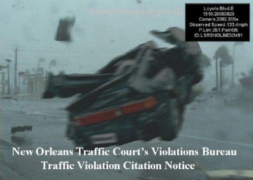 WOW!! Traffic Court Speeding Camera Image