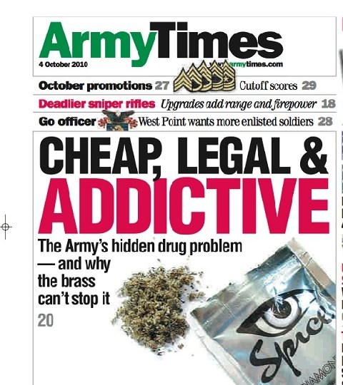 Army Times Cover