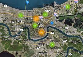 Traffic Cameras Locations in NOLA