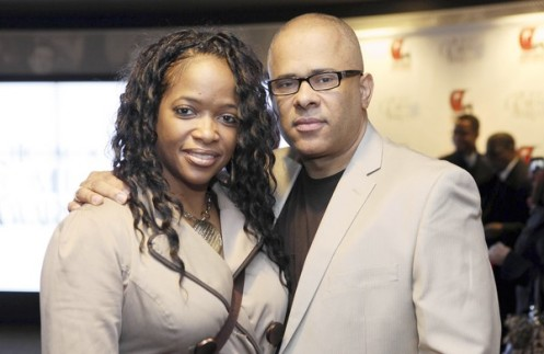 Tio Hardman, Director for CeaseFire Illinois with his Wife Alison