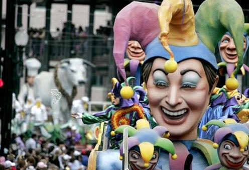 Kern's REX Parade on Mardi Gras Day