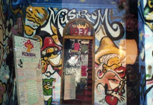 Mushroom Record Store on Broadway