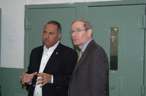 Marlin Gusman and Harvey Johnson in OPP