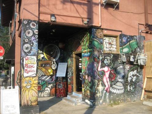 Mushroom Records Entrance in the Sun