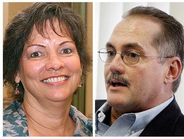 Renee Gusman and Paul Sens
