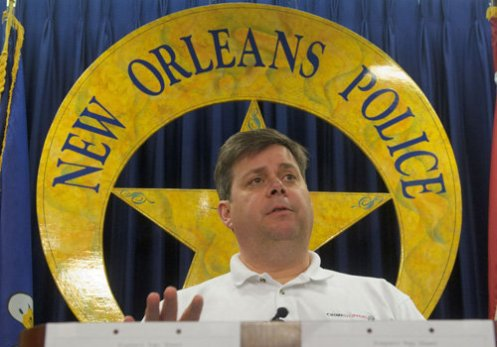 NOPD Chief Ronal Serpas