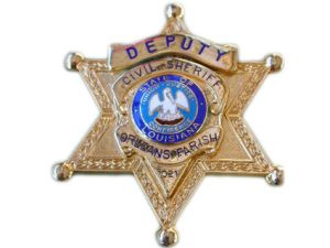 Orleans Parish Criminal Deputy Badge