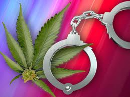 Weed and Handcuffs