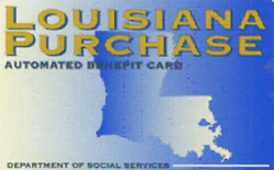 Louisiana SNAP Card