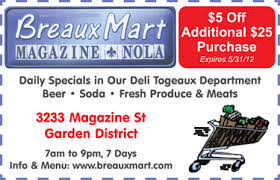 Breaux Mart Coupon