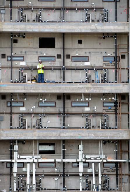 New Orleans Parish Prison Building Under Construction