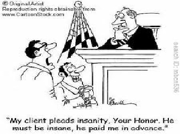 Traffic Court Cartoon