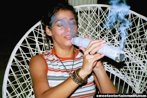 Huge Marijuana Joint