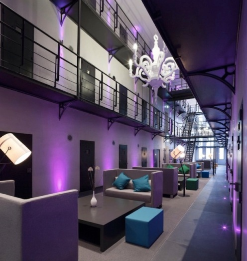 Dutch Prison Becomes Fancy Hotel