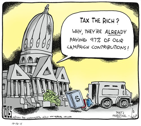 Tax The Rich Cartoon