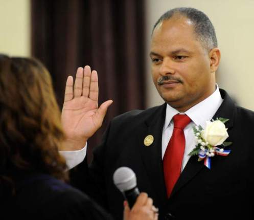 Ira Thomas is Sworn on to Orleans Parish School Board