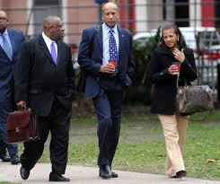 Ray Nagin Arriving at his Trial in New Orleans