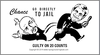 Nagin's Go Directly to Jail Card