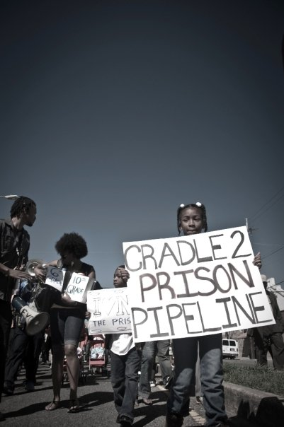 Cradle2prison sign