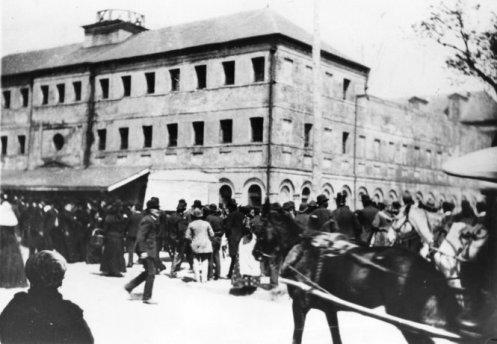1881 File Photo Outside Orleans Parish Prison