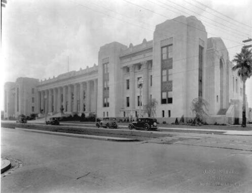 New Orleans Criminal Court Building in 1931