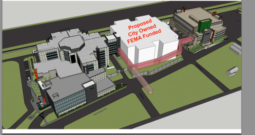 Proposed Phase III Jail Building