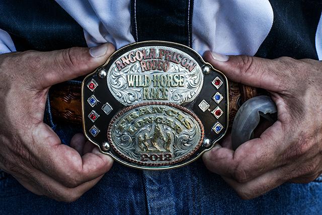 Angola Prison Rodeo Championship Belt Buckle